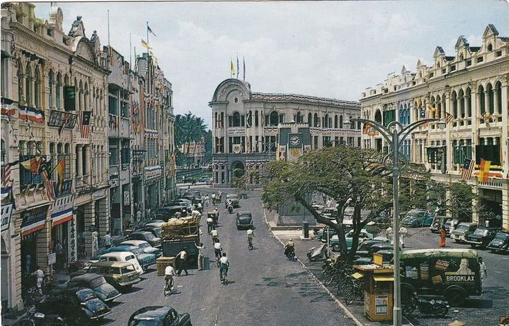 A Nice Photo Of Medan Pasar In The 1950s The Old Kuala Lumpur In Colour Pinterest Medan