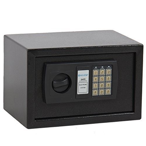 SAFE DEPOSIT BOX Home Security Electronic Digital Lock Keypad Office Gun Cash  #BestChoiceProducts