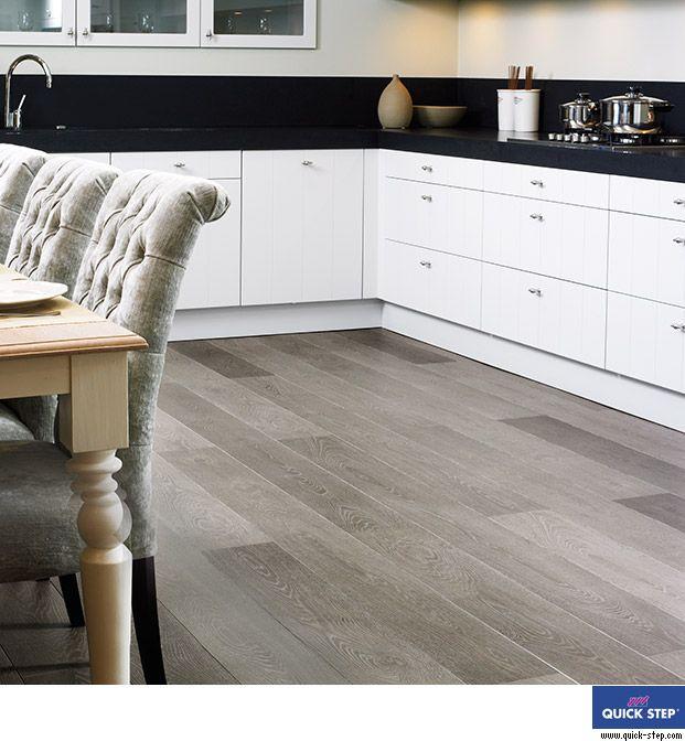 Grey Vintage Oak Laminate Largo Range Ikea Kitchenkitchen Floorkitchen