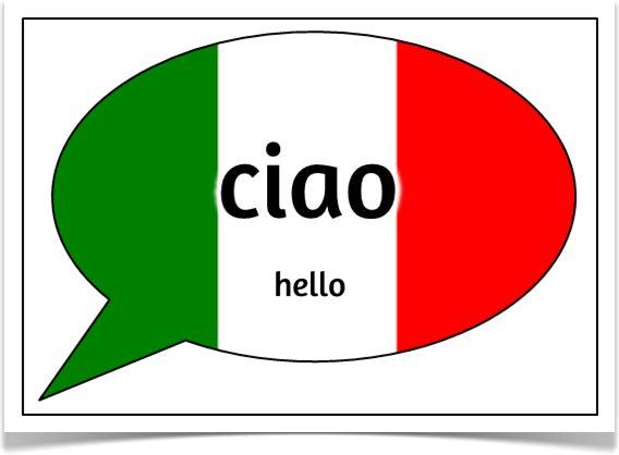 how to say in italian hello
