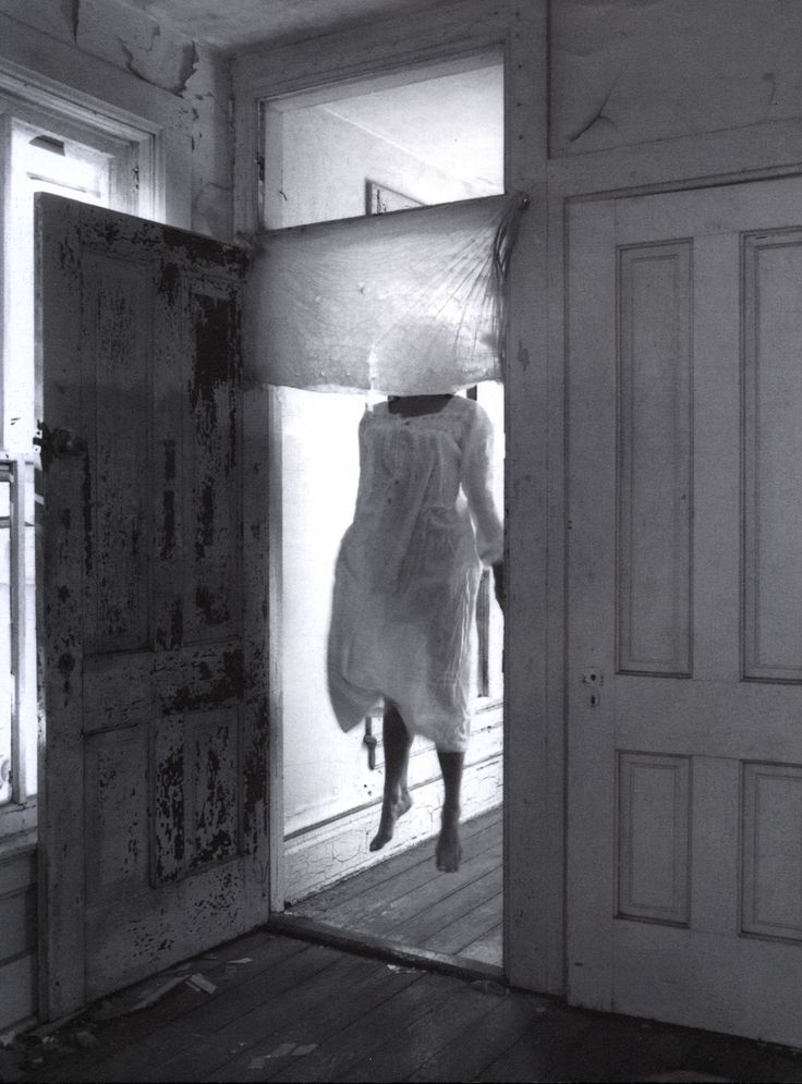 Not a ghost, but what if it was? How would you react if you saw her?