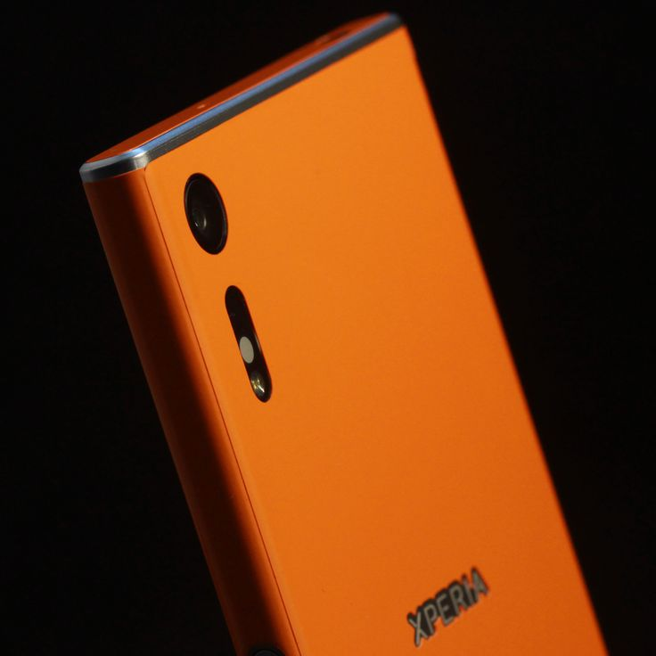 Sony Xperia XZ - Sunset Orange Gloss Skin
