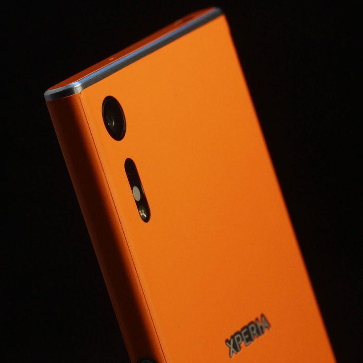 Sony Xperia XZ - Sunset Orange Gloss Skin