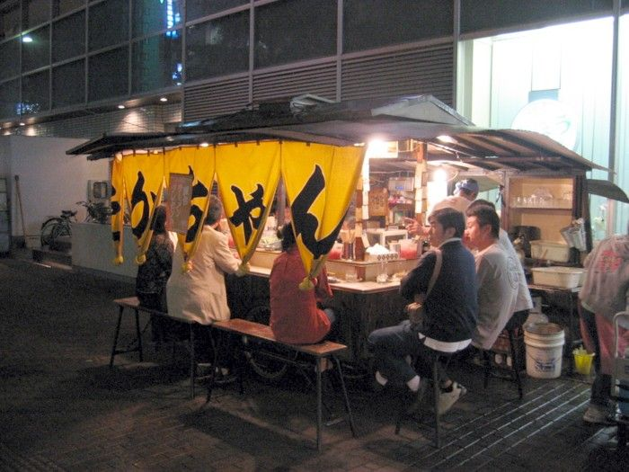 yatai (food wagon):屋台