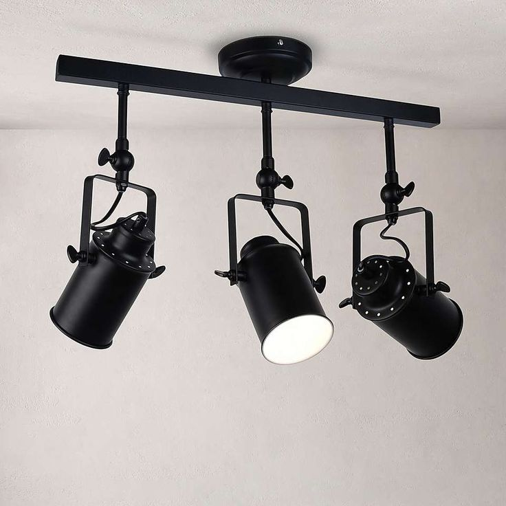 healy black 3 spotlight ceiling fitting  dunelm  black