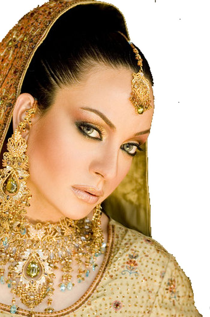 Pakistani Bridal Hairstyles | Pakistani Wedding Hairstyles ...