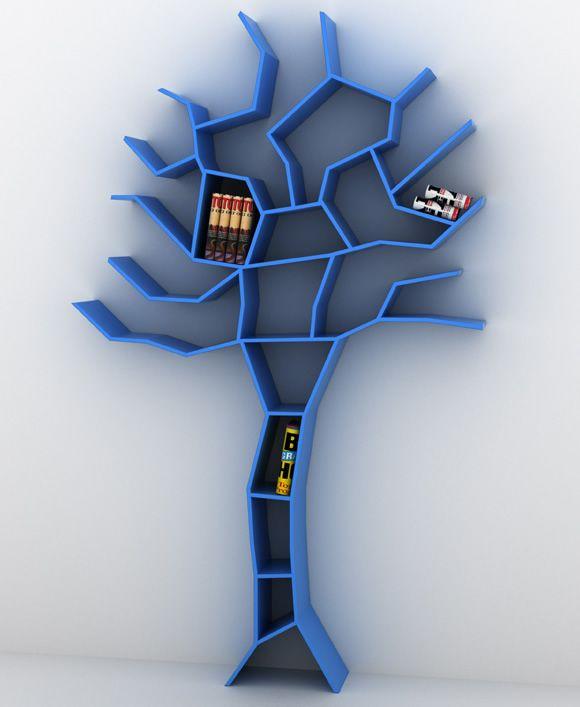 Estante em forma de árvore  Tree Bookcase, Roberto Corazza