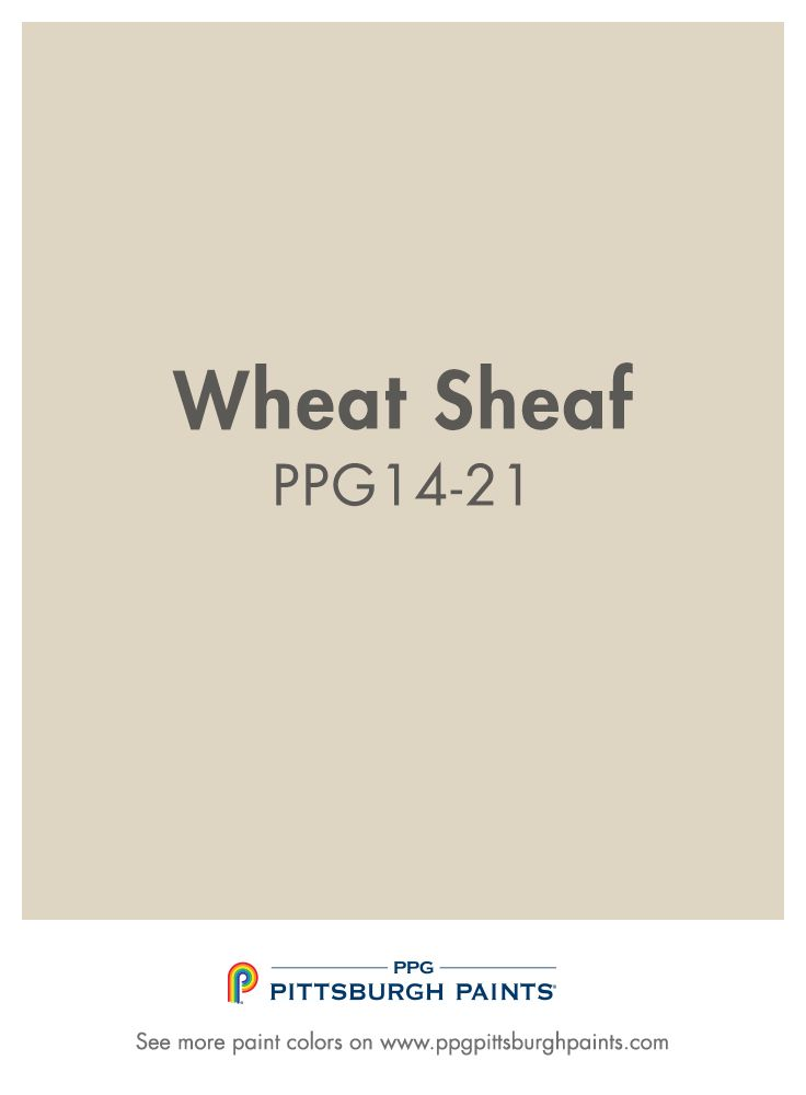 Wheat Sheaf paint color from PPG Pittsburgh Paints. One of the most  commonly used paint colors, beige can be a safe neutral to incorporate into  your space.