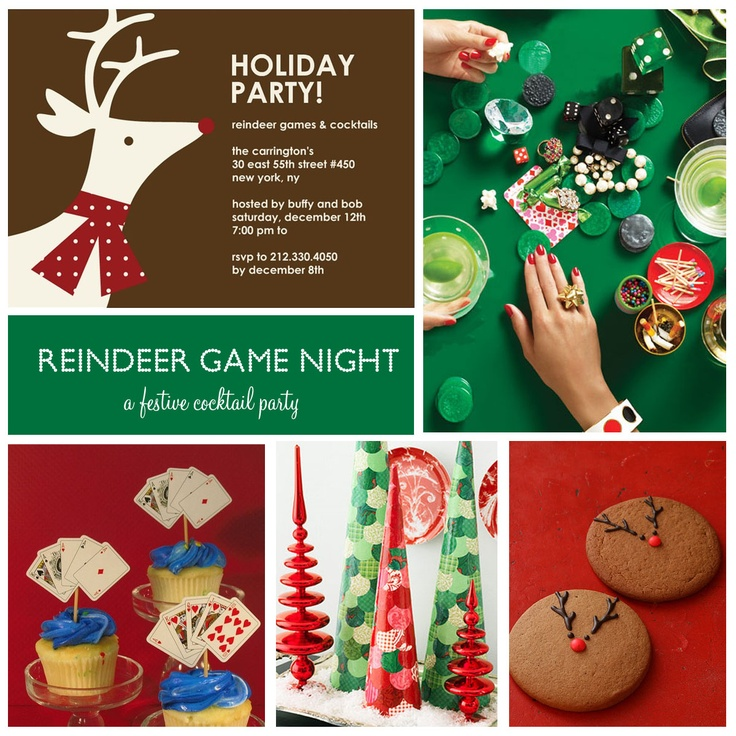 Top 10 Christmas Party Games: 10 Best Reindeer Games! Images On Pinterest