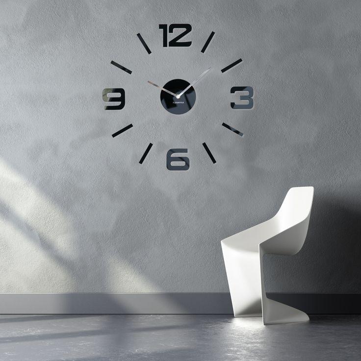 Moderné nástenné hodiny do obývačky