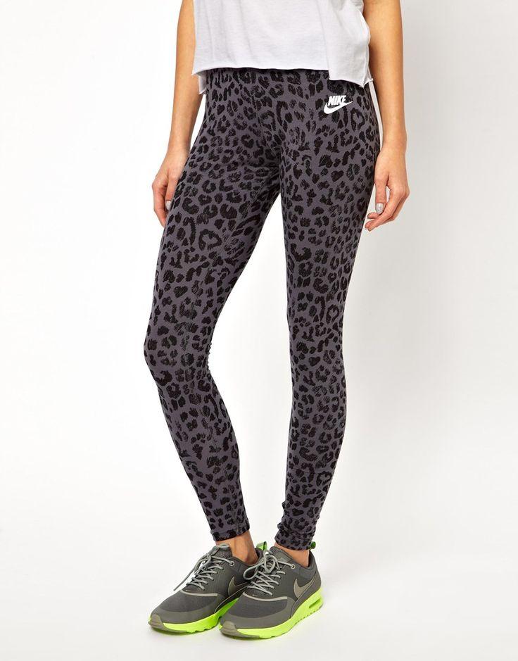 Nike Leopard Printed Leggings