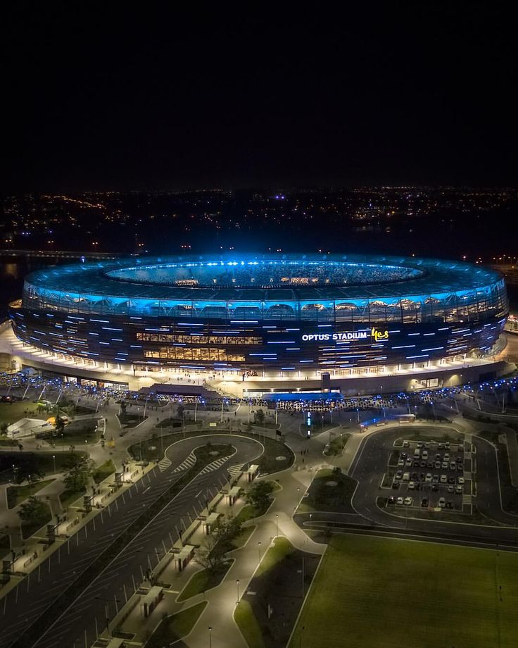 Optus Stadium Lights Tour: 503 Best Western Australia Images On Pinterest