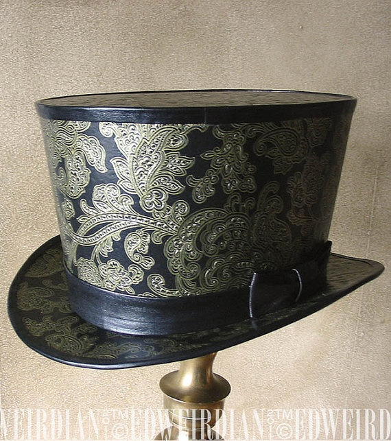 37 best custom leather etsy images on pinterest custom leather top hat or lampshade mozeypictures Images