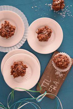 Schokoladige Knusper-Pralinen für die Weihnachtszeit