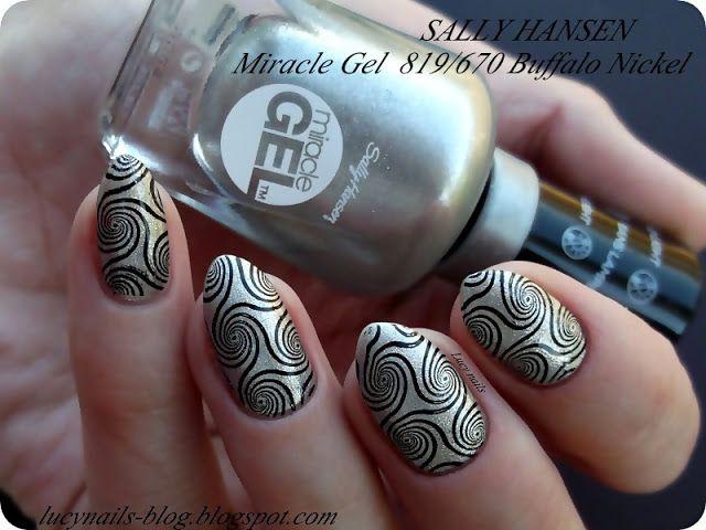 SALLY HANSEN Miracle Gel 819/670 Buffalo Nickel