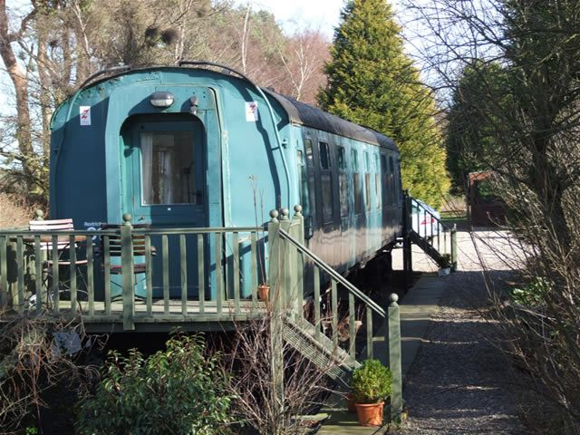 The Railway Carriage guest house St Andrews - we stayed here, recently!
