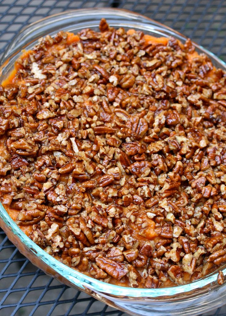 CupcakesOMG!: Paleo Sweet Potato Casserole (and the Rest of Sunday Dinner)
