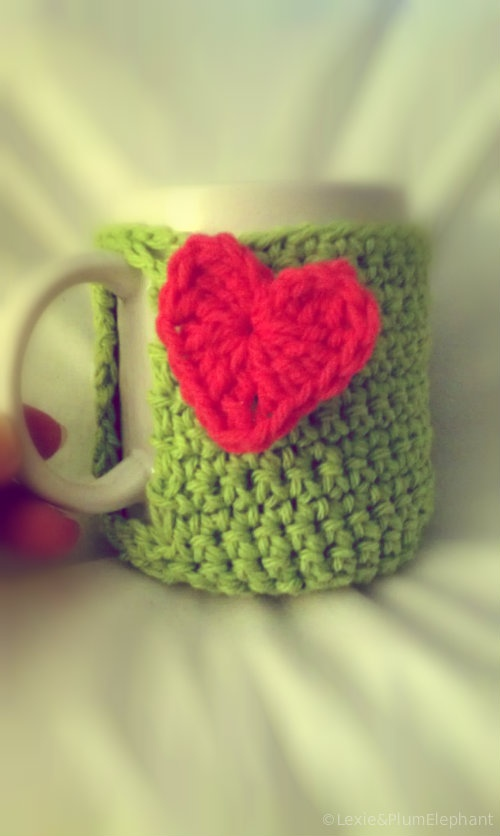 {plum elephant} Crochet Mug Cozy