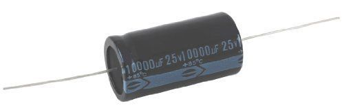 NTE Electronics NEH68M35 Series NEH Aluminum Electrolytic Capacitor, 20% Capacitance Tolerance, Axial Lead, 68آµF Capacitance, 35V