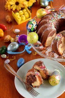 Wielkanocna, szybka babka z majonezem