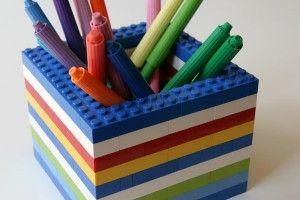 Porte-crayons Lego