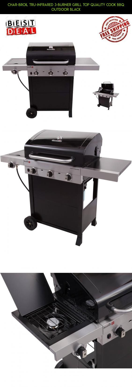 Char-Broil Tru-Infrared 3-Burner Grill Top Quality Cook Bbq Outdoor BLACK #technology #gadgets #kit #burner #drone #shopping #fpv #parts #tech #3 #racing #grills #products #camera #plans
