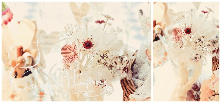 this is a section of a lovely wedding bouquet........