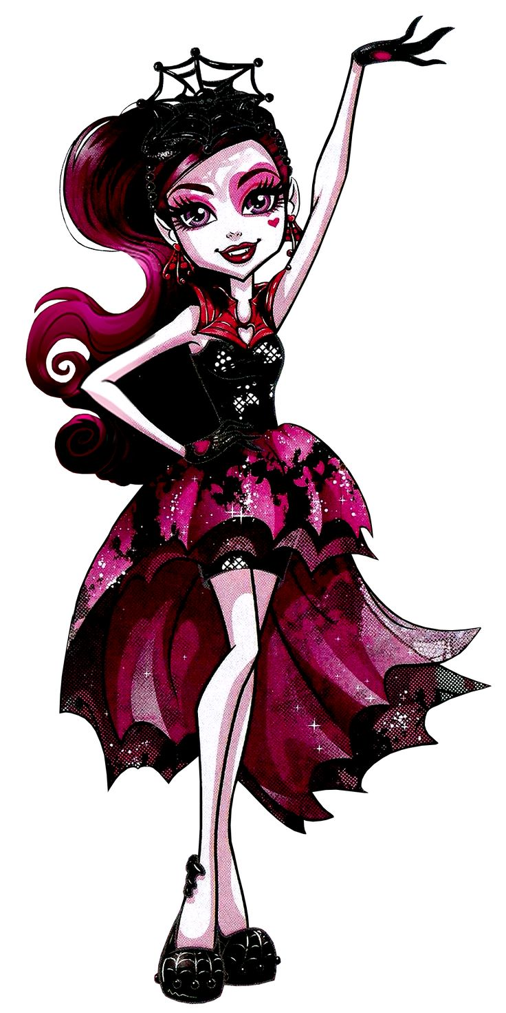 Draculaura. Welcome to Monster High. Dance the Fright Away. NEW Profile art