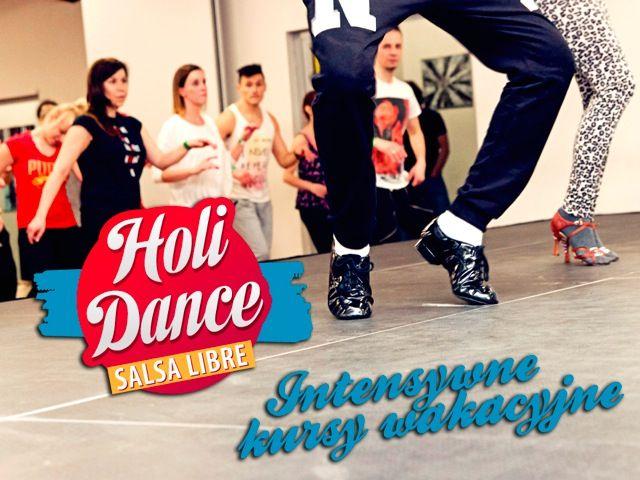 Wytańcz się z nami w wakacje! Poza regularnymi kursami, które odbywają się u nas przez całe wakacje, zapraszamy na specjalne zajęcia wakacyjne HoliDance - intensywne 5-dniowe (pon-pt) zajęcia z różnych technik tanecznych na różnych poziomach! Przedłuż sobie wakacje z SL do końca września! Dodatkowo zgarnij rabaty do szkoły językowej Speak Up! http://www.salsalibre.pl/news/168930/holidance-intensywne-kursy-wakacyjne