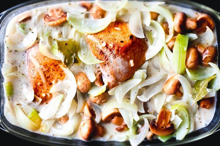 Mad på 4 sal: Kylling i æblecider