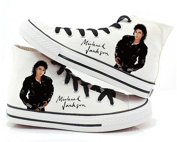 Hey, I found this really awesome Etsy listing at https://www.etsy.com/listing/174599529/michael-jackson-shoes-canvas-shoes-hand