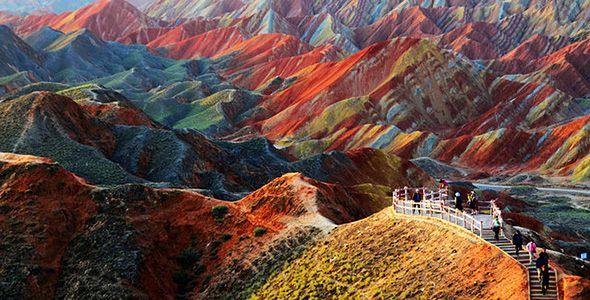 Οροσειρά Zhangye, Kίνα