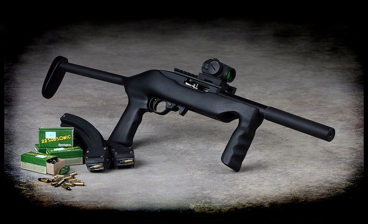 The Firearm Blog » Short Barrel Ruger 10/22 with Custom Stock