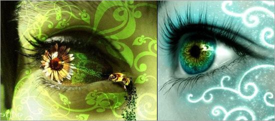 photoshopped eyes   Some of you may have seen artworks on Fantasy Eyes theme on deviantART ...