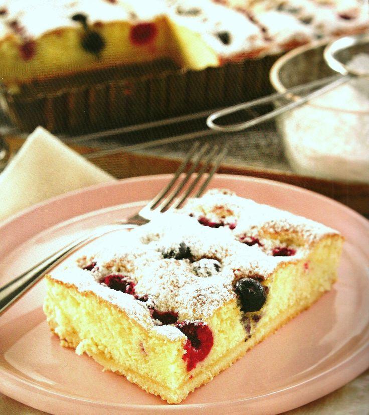 Tarta de frutos rojos - Mundo Pastel