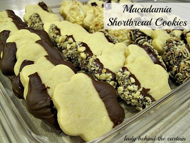 Macadamia Shortbread Cookies | Yum Log | Pinterest | Shortbread ...