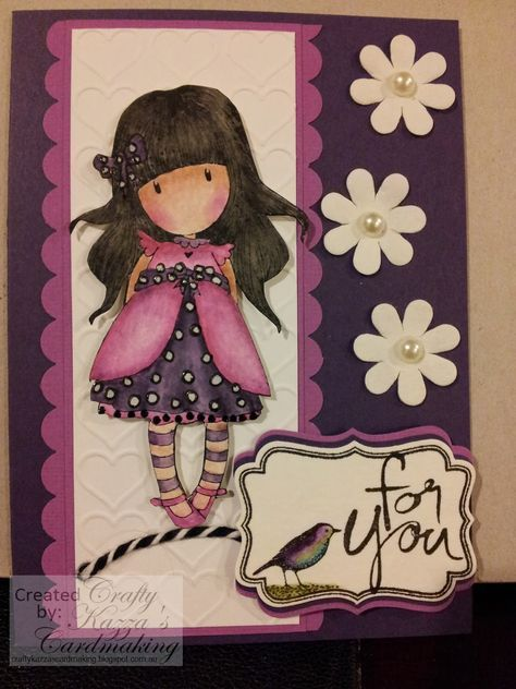 gorjuss stamps ladybird cards projects - Google Search