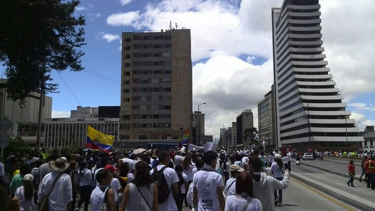 Bogota, Colombia., marcha por: La Vida sagrada