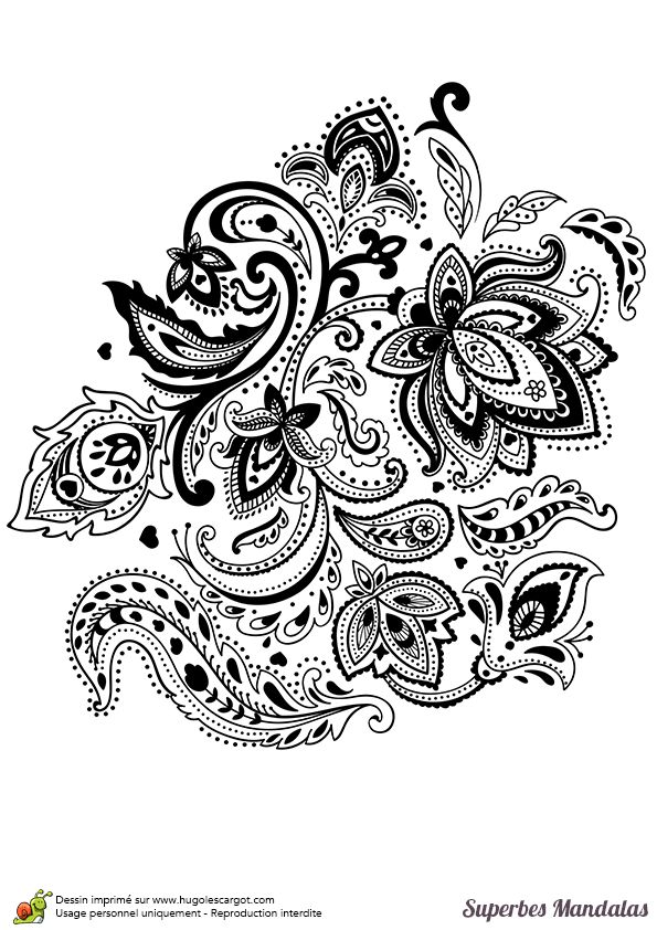 Best 25 doodle flowers ideas on pinterest floral doodle bullet journal doodles ideas and - Hugolescargot mandala ...