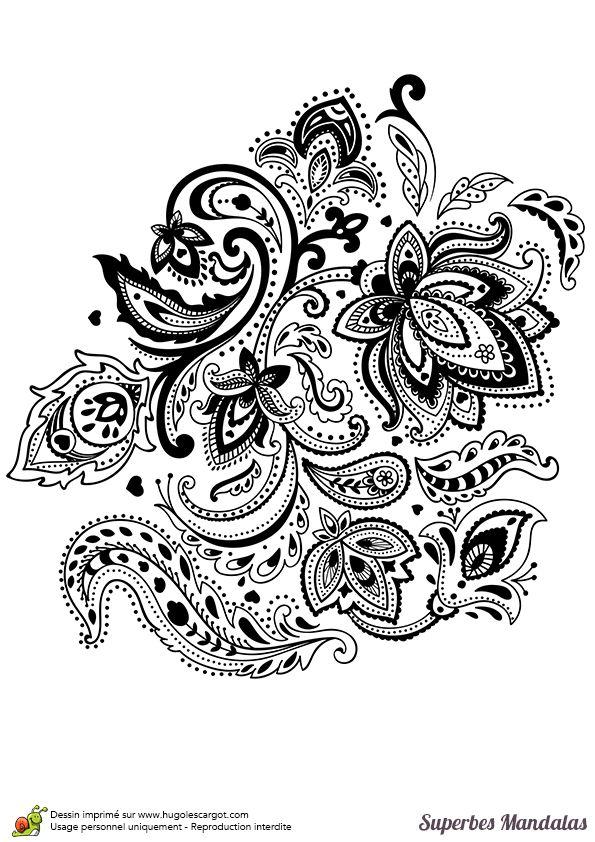 Coloriage d un superbe mandala nature et fleurs mandala pinterest - Initiatives fleurs et nature ...
