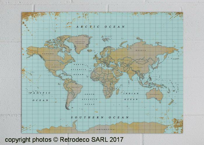 les 25 meilleures id es de la cat gorie carte du monde vintage sur pinterest montre carte du. Black Bedroom Furniture Sets. Home Design Ideas