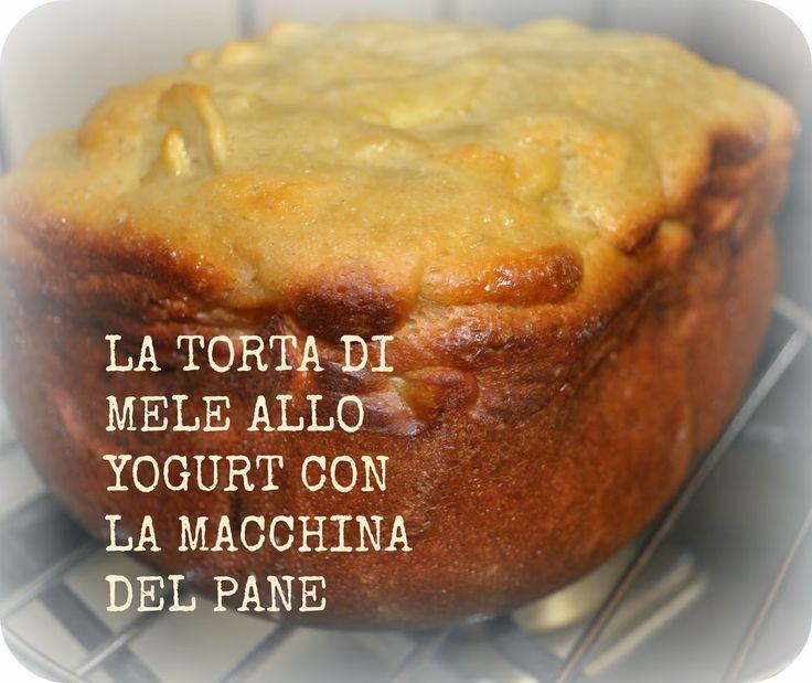donneinpink- fai da te e consigli per gli acquisti: La torta di mele allo yogurt con la macchina del p...