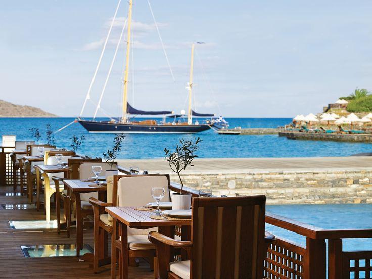 Porto Elounda De Luxe Resort - Restaurant http://www.elounda.com/en/hotels/europe-greece-crete-lassithi-elounda/portoeloundadeluxeresort.html