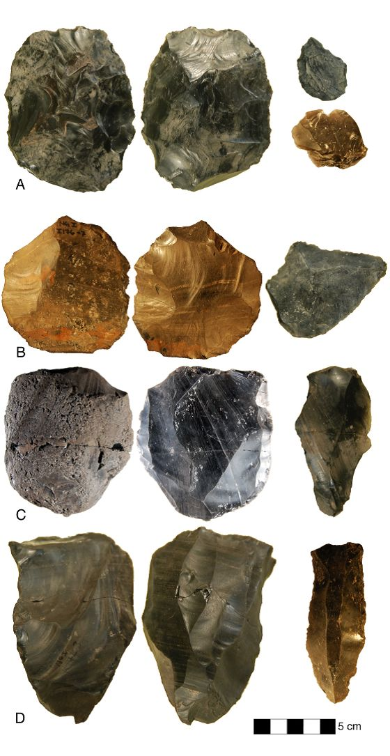 Stone Age site in Armenia challenges old archaeological assumptions about human technology - Nor Geghi 1, preserved between two lava flows dated to 200,000-400,000 years ago.  Royal Holloway/University of London.