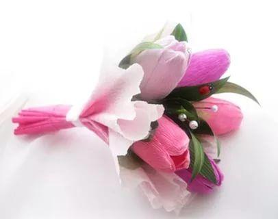 цветы из конфет и гофрированной бумаги: 20 тыс изображений найдено в Яндекс.Картинках
