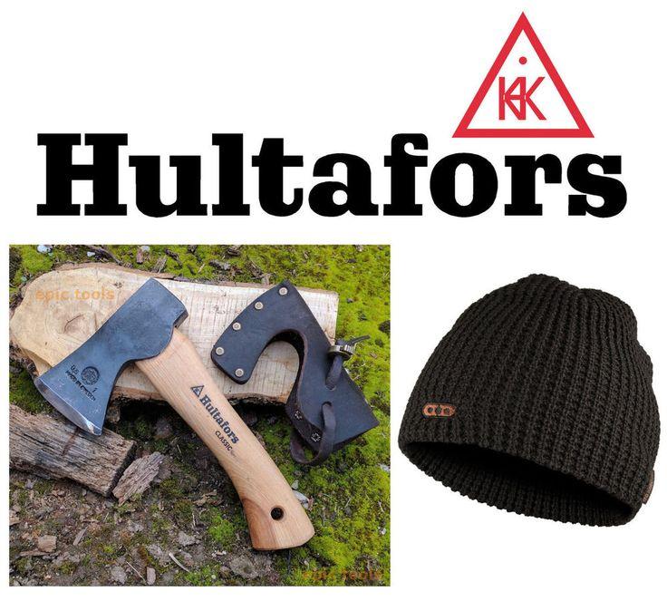 HULTAFORS Classic Mini Trekking Axe & Leather Sheath + Free Dunderdon Beanie Hat  | eBay