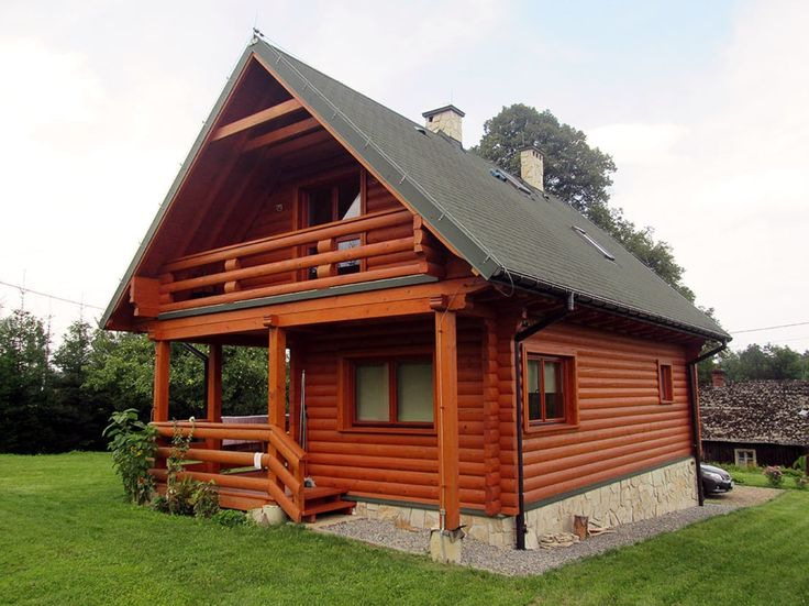 17 mejores ideas sobre planos de casas de madera en for Cabanas de madera pequenas