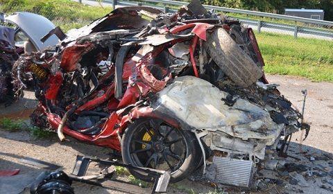 Porsche Girl Wreck
