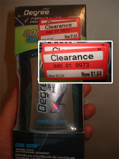 If target clearance prices end in a 4, it's the lowest price the store will offer for that product!