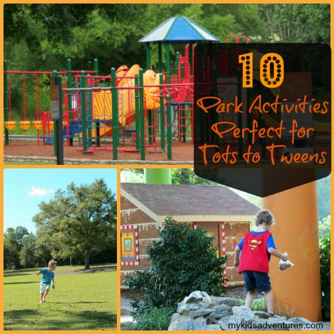 Park adventures: here's how to turn an ordinary day at the park into something extraordinary and fun for everyone.